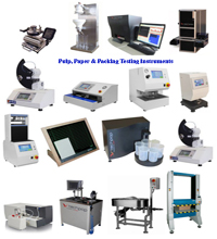 Pulp, Paper & Packing Testing Instruments