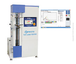 Product Details: Brand Prestro Display Type Analog Supply AC Grade Manual Maximum Range 100Kgf Least Count or Resolution 100gm Display Digital & Graphical Computerised Top Load Tester is a new generation and fully automatic, motorized testing machine. It explains the compressive buckling load in digital as well as computerized format. The instrument offers sophisticated high-end read out with ZERO set (Auto, Tare) facility along with peak hold arrangement. To perform the test with a top load tester, the sample is placed between the inverted straight clamps that ensure zero slippage. The fully automatic and motorized testing instrument that provides compressive buckling load in two formats i.e. digital and computerized format. The highly sophisticated Digital display offers high-end readout. The device is provided with a calibrated load sensor. Model Overview Maximum Range: 100Kgf Accuracy: ± 2% full scale (with master load) Least Count or Resolution: 100gm Power: 220V, Single phase, 50 Hz Display: Digital & Graphical Safety: Upward and Downward Limit switches provided Load Monitoring: Peak Load indicator with Digital readout and peak hold feature Grips: Inverted Compression Plates Features Inverted plates that ensure zero slippage Digital Display for repeatability and accuracy In-house calibration facility Note: Computer and printer not part of the offer
