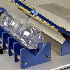 Hot Wire Bottle Cutter – For PET bottle section weight analysis