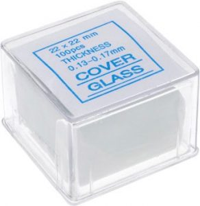Microscope Slide Cover Glass