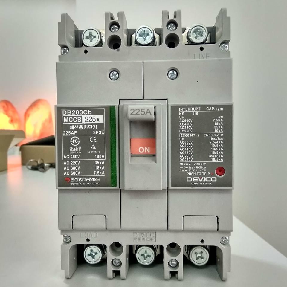 Devico- DB1203SA (Adjustable) Molded Case Circuit Breaker (MCCB)