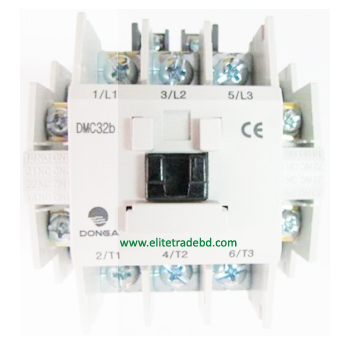 DMC-32b 2a2b Dong-A 3 Phase Magnetic contactor