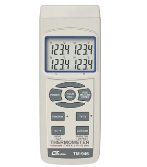 LUTRON TM-946 4 channels Thermometer