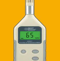 AR827 Digital Humidity & Temperature Meter
