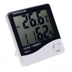 HTC-1 Digital Temperature and Humidity Meter LCD display, -50° to +70°C