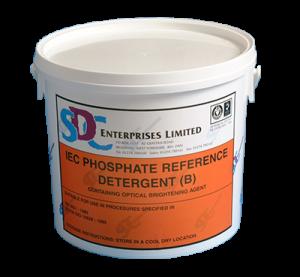 SDC Standard IEC (B) phosphorus-containing fluorescent detergent