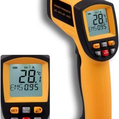 GM900 Digital Infrared Thermometer IR Laser Temperature Meter Non-contact LCD Gun Style Handheld Pyrometer
