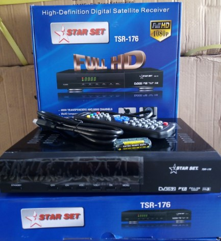 High Definition Digital Satellite Receiver/ Decoder