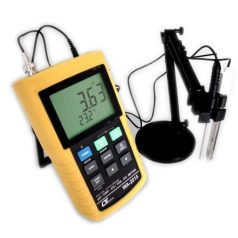 pH/ORP, DO, CD/TDS METER Bench type RS23/USB, Data recorder