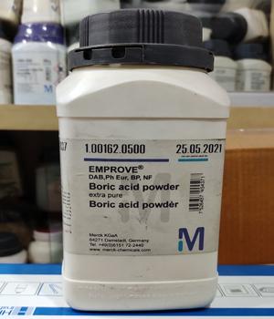 Boric acid powder extra pure, Merck-Germany