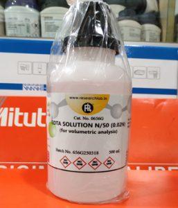 EDTA Solution N/50 (0.02N), For lab analysis