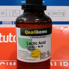 Lactic Acid (C3H6O3) 500 mL, Qualikems