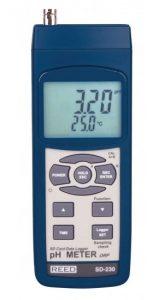 REED SD-230 Data Logging pH/ORP Meter