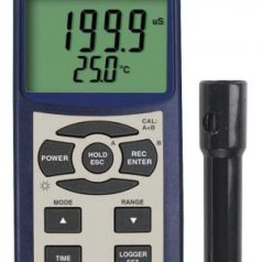 Conductivity/TDS/Salinity Meter -Data Logging, REED SD-4307