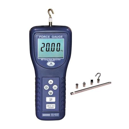 Data Logging Force Gauge 44 lbs or 20 kg, SD-6020