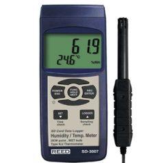 Data Logging Thermo Hygrometer, SD-3007