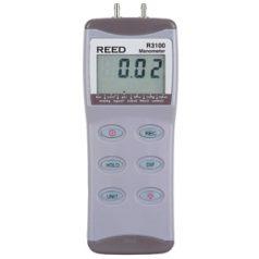 R3100 Digital Differential Pressure Manometer (100psi)