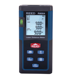 Laser Distance Meter, 131' (40m), REED R8004