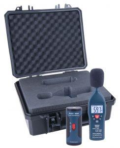 Sound Level Meter and Calibrator Kit, REED R8050-KIT