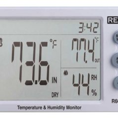 Temperature and Humidity Meter, R6000
