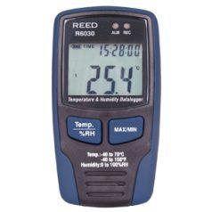 Temperature or Humidity Data Logger, R6030