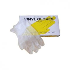 Disposable Powdered Vinyl Hand Gloves