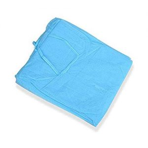 Disposable medical apron isolation cover gown
