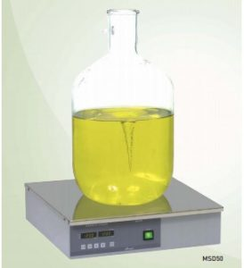 Powerful magnetic stirrer without heating