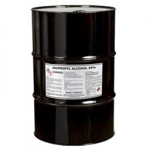 Isopropyl Alcohol Grade 99% Anhydrous (IPA) - 55 gallon drum Report incorrect product information Isopropyl Alcohol Grade 99% Anhydrous (IPA)