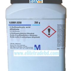 Salicylsulfonic acid, 5-Sulfosalicylic acid dihydrate for synthesis