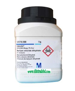 Barium chloride dihydrate for analysis EMSURE® ACS ISO Reag Ph Eur
