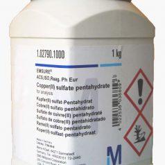 Copper monosulfate pentahydrate, Copper vitriol pentahydrate, Copper (II) sulfate pentahydrate