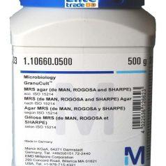 MRS agar (de MAN, ROGOSA and SHARPE) acc