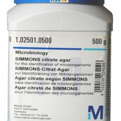 SIMMONS citrate agar for the identification of micro organisms