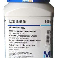 Triple sugar iron agar for microbiology