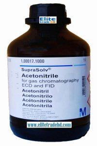 Methyl cyanide for gas chromatography