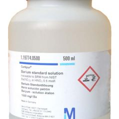 Barium standard solution traceable to SRM from NIST Ba (NO₃)₂ in HNO₃ 0.5 mol / l 1000 mg / l Ba CertiPUR®