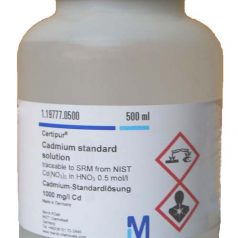 Cadmium standard solution traceable to SRM from NIST Cd (NO₃)₂ in
