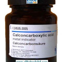 Patton and Reeders Reagent, 2-Hydroxy-1- (2-hydroxy-4-sulfo-1-naphthylazo) -naphthalene-3-carboxylic acid, Calconcarboxylic acid metal indicator