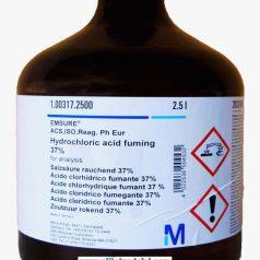 Hydrogen chloride solution, Hydrochloric acid