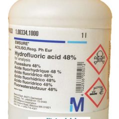 Hydrofluoric acid 48% for analysis EMSURE® ACS ISO Reag Ph Eur
