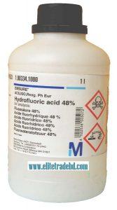 Hydrofluoric acid 48% for analysis EMSURE® ACS ISO Reag Ph Eur
