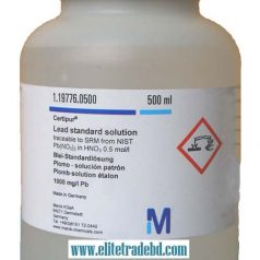 Lead standard solution traceable to SRM from NIST Pb (NO₃) ₂ in HNO₃ 0.5 mol / l 1000 mg / l Pb CertiPUR®