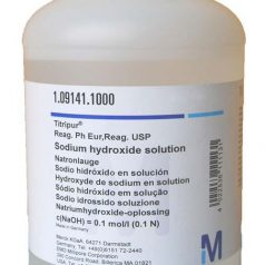 Sodium hydroxide solution c (NaOH) = 0.1 mol / l (0.1 N) Titripur® Reag Ph Eur Reag USP