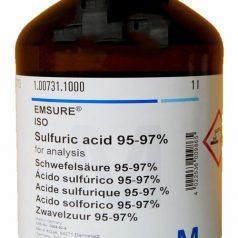 Sulfuric acid 95-97% for analysis