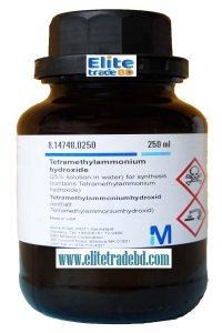 Tetramethylammonium hydroxide for synthesis