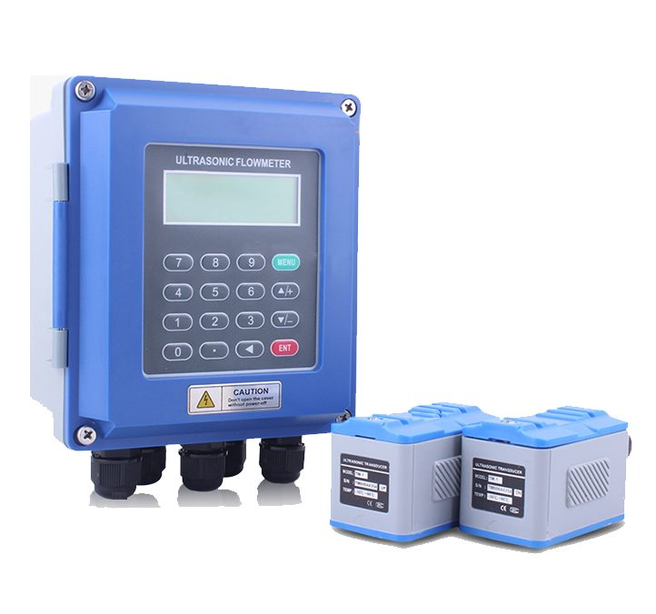 Wall mounted ultrasonic flow meter,BQ-ULF-100W