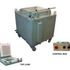 Industrial crucible oven, HCV Series