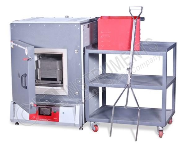 Asphalt content oven (Asphalt ignition furnace) (ASTM D6307, AASHTO T308)