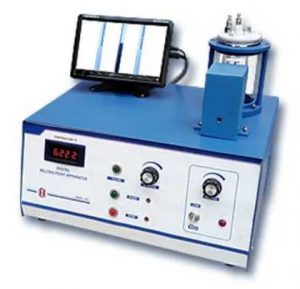 Precision melting and boiling point apparatus with camera & touch screen